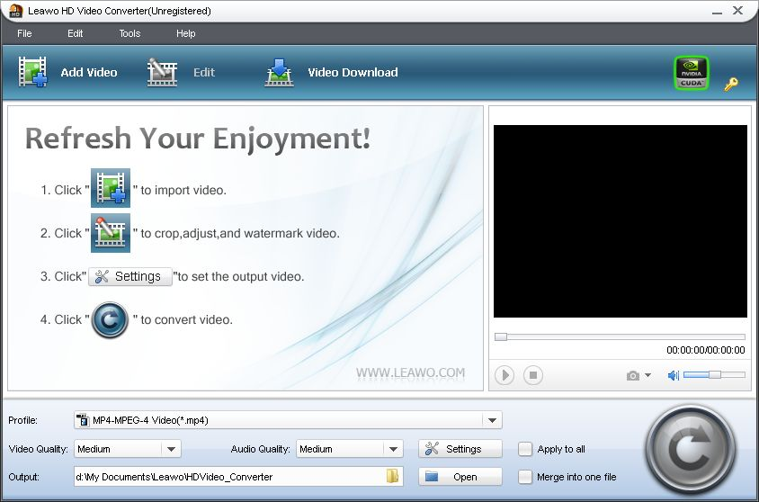 click to see large screenshoot of HD Video Converter
